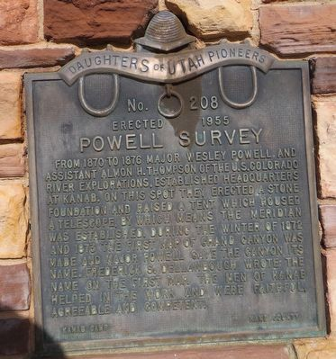 Powell Survey Marker image. Click for full size.
