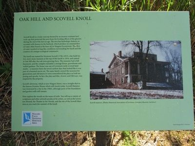 Oak Hill and Scovell Knoll Marker - New image. Click for full size.
