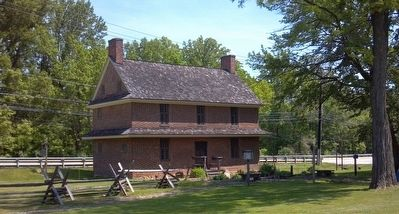 Barns-Brinton House image. Click for full size.