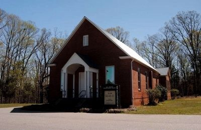 Old Waxhaw Presbyterian Church image. Click for full size.