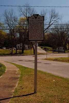 Isom C. Clinton Marker image. Click for full size.