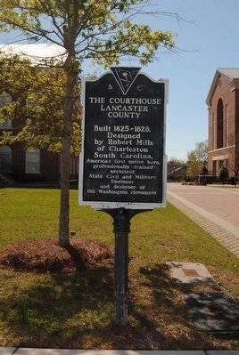 The Courthouse Lancaster County / John Simpson Marker image. Click for full size.