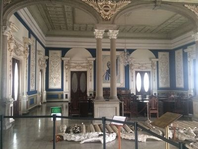 "The ""Blue Room"" (Salón Azul) of the National Palace of El Salvador image. Click for full size."