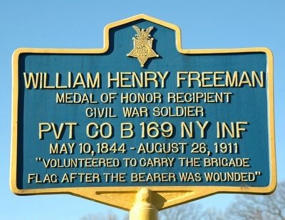 William Henry Freeman Marker image. Click for full size.