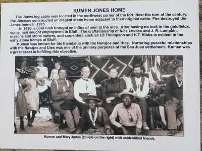 Kumen Jones Home Marker image. Click for full size.