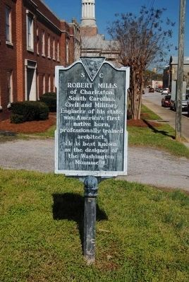 The Jail / Robert Mills Marker image. Click for full size.