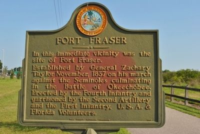 Fort Fraser Marker image. Click for full size.