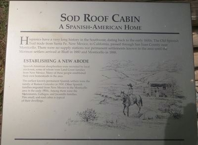 Sod Roof Cabin Marker image. Click for full size.
