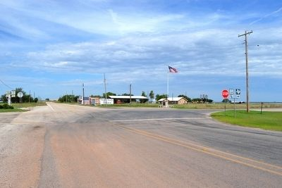 Intersection of State Highway 128 Loop<br>and Farm-to-Market Road 1835 image. Click for full size.