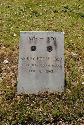 Ashley House - 1820 Marker image. Click for full size.