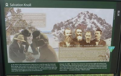 Salvation Knoll Marker image. Click for full size.