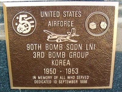 90th Bomb Squadron LNI Marker image. Click for full size.