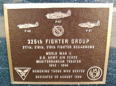 325th Fighter Group Marker image. Click for full size.
