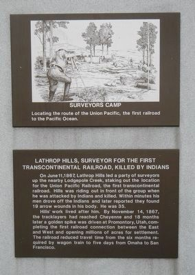 Lathrop Hills Marker image. Click for full size.