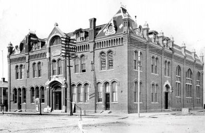 The Cheyenne Opera House and Territorial Library image. Click for full size.