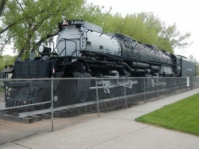 Cheyenne's Big Boy Steam Locomotive #4004 image. Click for full size.
