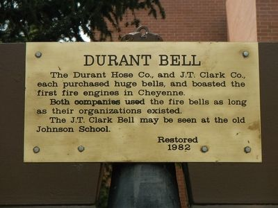 Durant Bell Marker image. Click for full size.