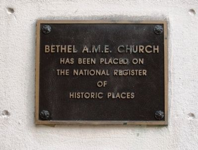 Bethel African Methodist Episcopal Church image. Click for full size.