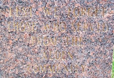 Veterans Memorial Detail image. Click for full size.