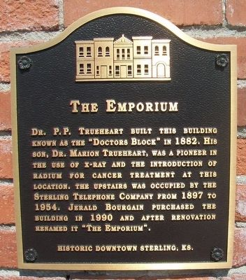 The Emporium Marker image. Click for full size.