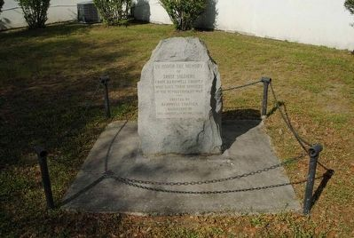 Barnwell County Revolutionary War Monument image. Click for full size.