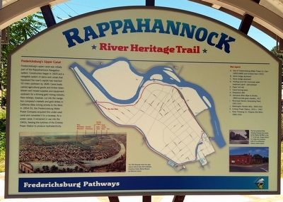 Rappahannock River Heritage Trail Marker (side 2) image. Click for full size.