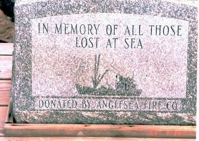 Lost at Sea Memorial Marker image. Click for full size.