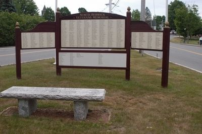 North Berwick State of Maine Veterans Memorial Marker image. Click for full size.