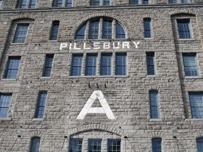 Pillsbury A Mill image. Click for full size.