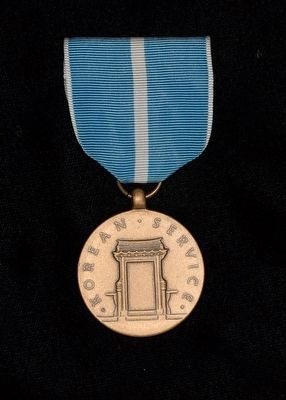 Korean Service Medal image. Click for full size.
