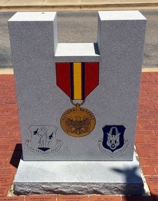 Operation Noble Eagle Memorial (Reverse) image. Click for full size.