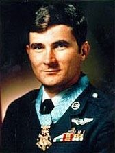 Airman First Class John L. Levitow image. Click for full size.