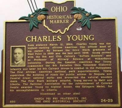 Charles Young Marker image. Click for full size.