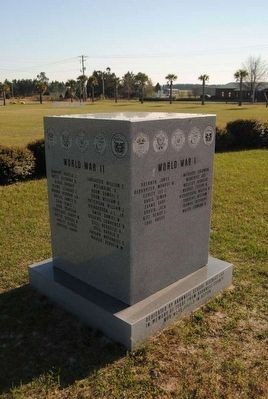 Barnwell School District #45 KIA Monument image. Click for full size.