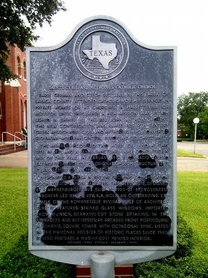Saints Cyril and Methodius Catholic Church Marker image. Click for full size.