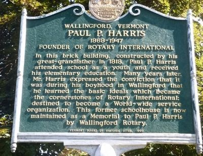 Paul P. Harris Marker image. Click for full size.