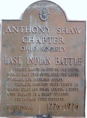 Last Indian Battle Marker image. Click for full size.