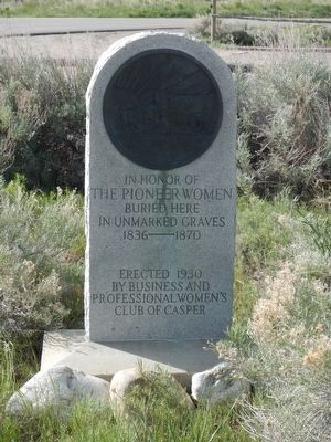 The Pioneer Women Marker image. Click for full size.