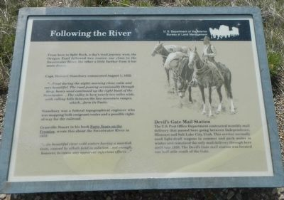 Following the River Marker image. Click for full size.