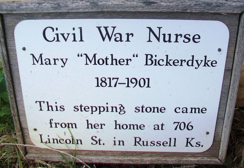 "Mary ""Mother"" Bickerdyke Marker image. Click for full size."