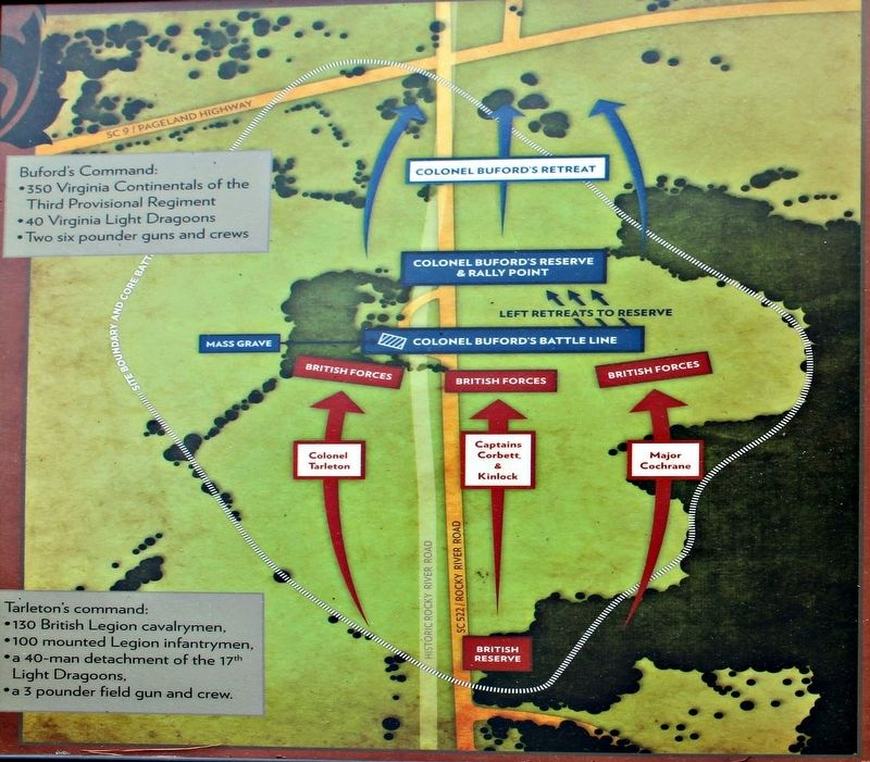 Buford's Defeat Marker Map image. Click for full size.