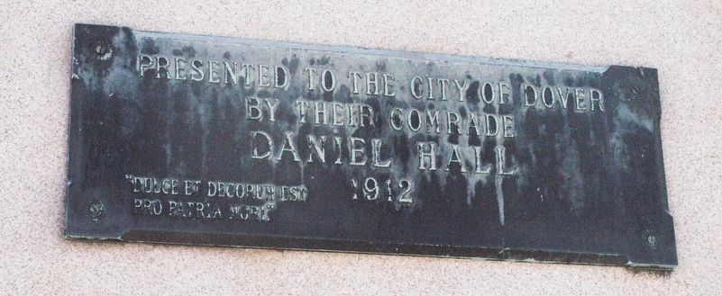 Dover NH Civil War Memorial Marker image. Click for full size.