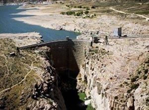Pathfinder Dam image. Click for full size.