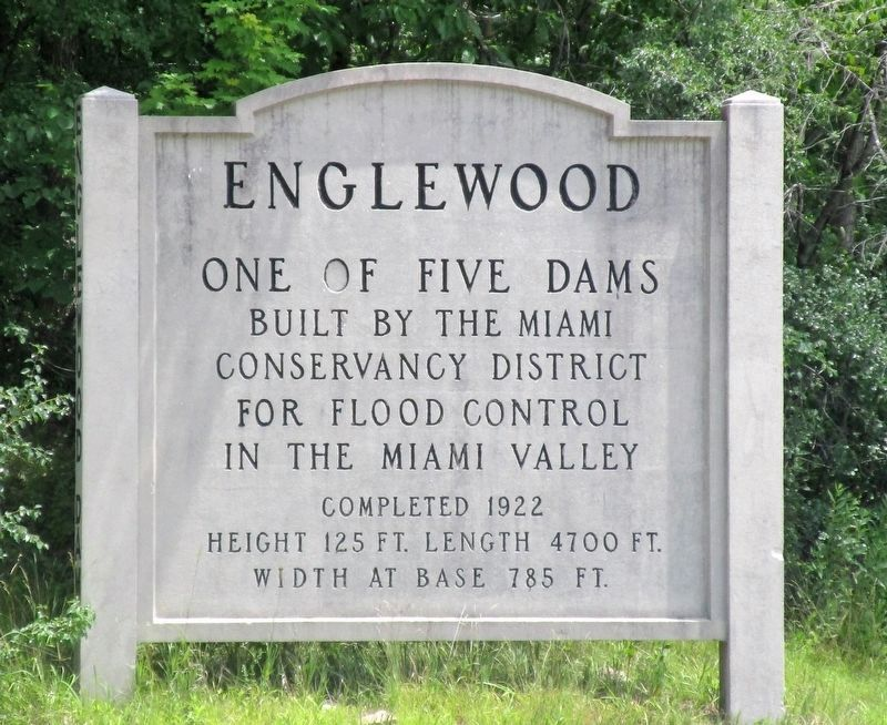 Englewood Dam Marker image. Click for full size.