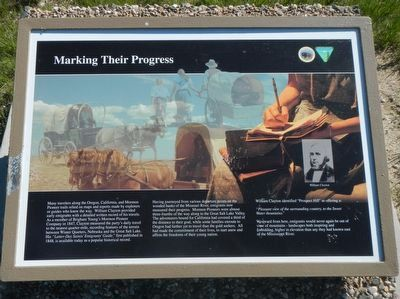 Marking Their Progress Marker image. Click for full size.