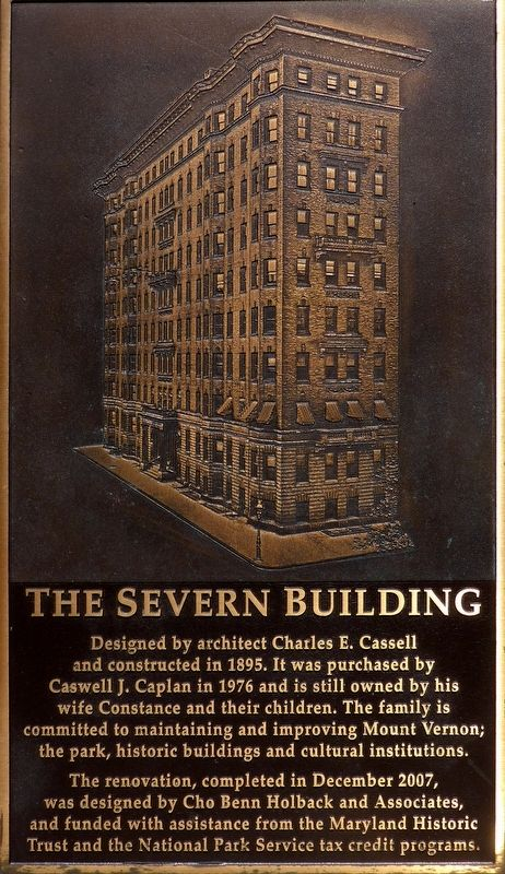 The Severn Building Marker image. Click for full size.