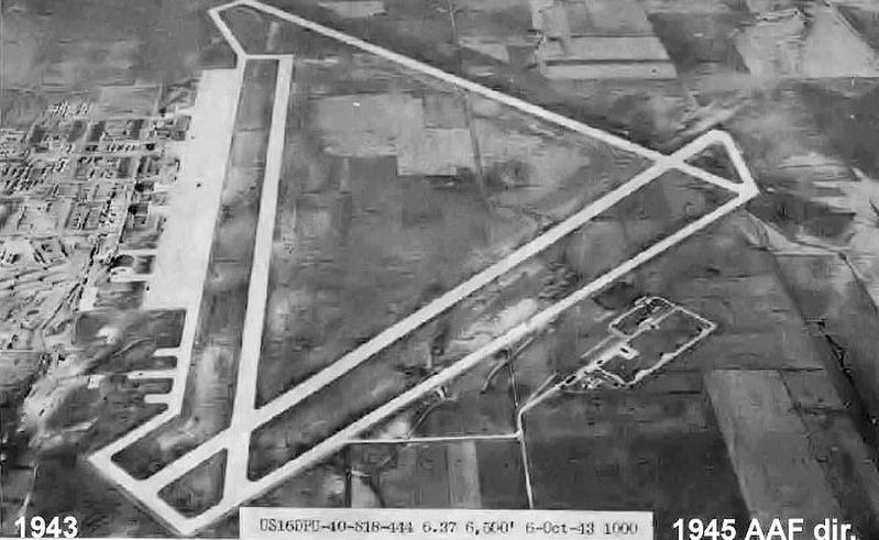 Aerial Photo of Walker Army Airfield image. Click for full size.
