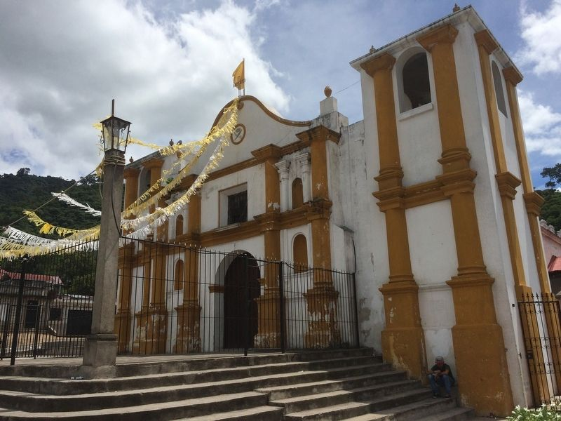 The Catholic Church of Santa Catarina Barahona image. Click for full size.