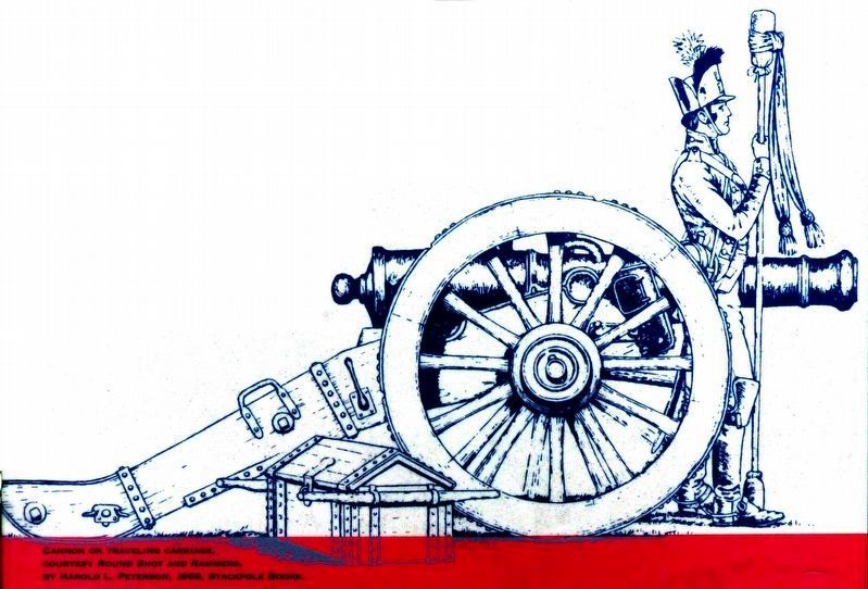 Cannon on Travelling Carriage image. Click for full size.