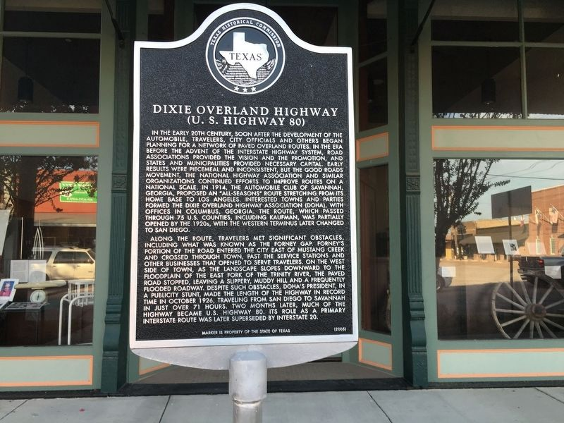 Dixie Overland Highway Marker image. Click for full size.